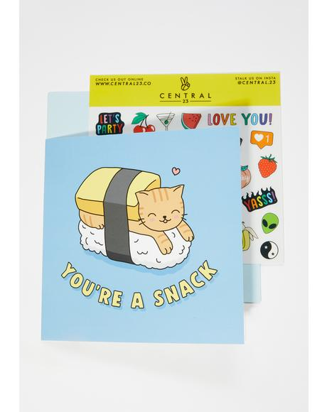 You're a Snack Card