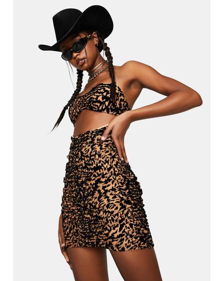 Leopard Georgie Mini Dress
