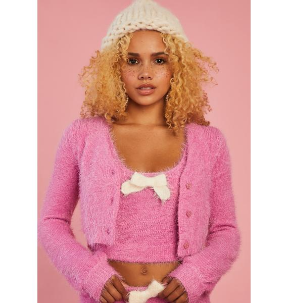 Sugar Thrillz Serenity Calls Cropped Sweater Set