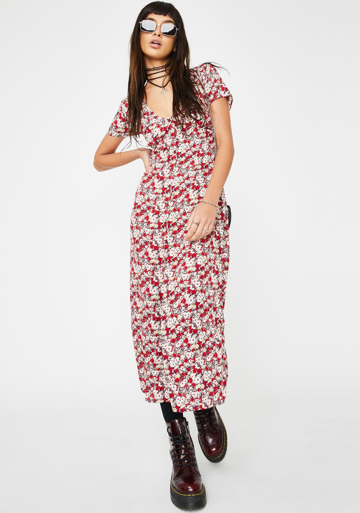 Motel Larin Maxi Dress