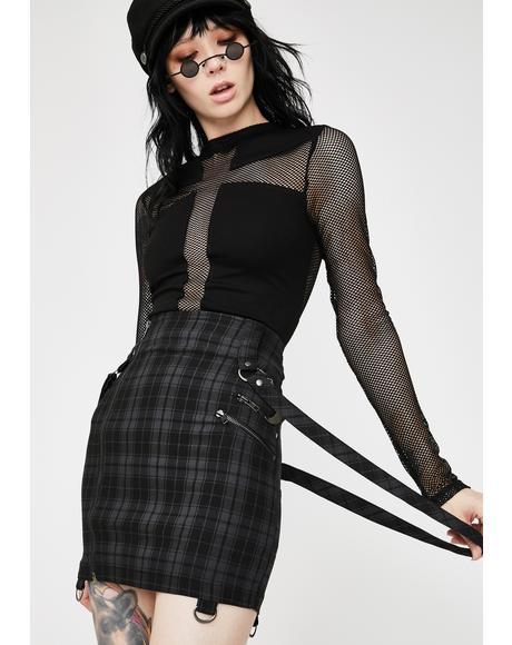 Tartan Adele Mini Skirt