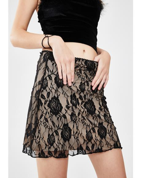 Sugar N' Spice Lace Skirt