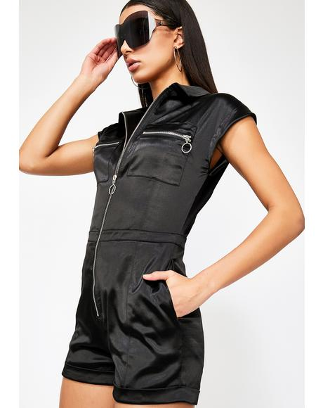 No Days Off Utility Romper