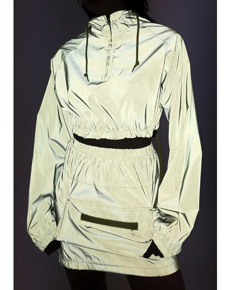 Reflective Anorak Jacket