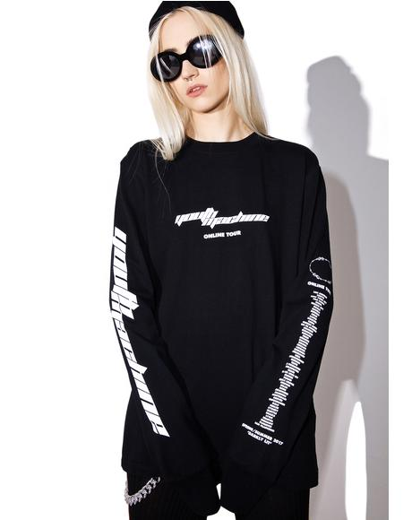 Online Tour Long Sleeve Tee