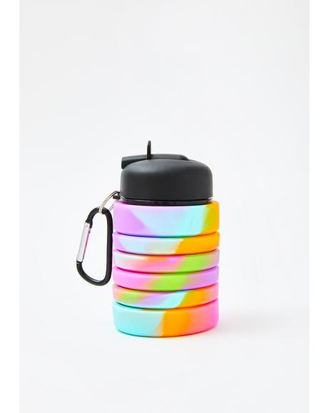 Hello Hydration Collapsible Water Bottle