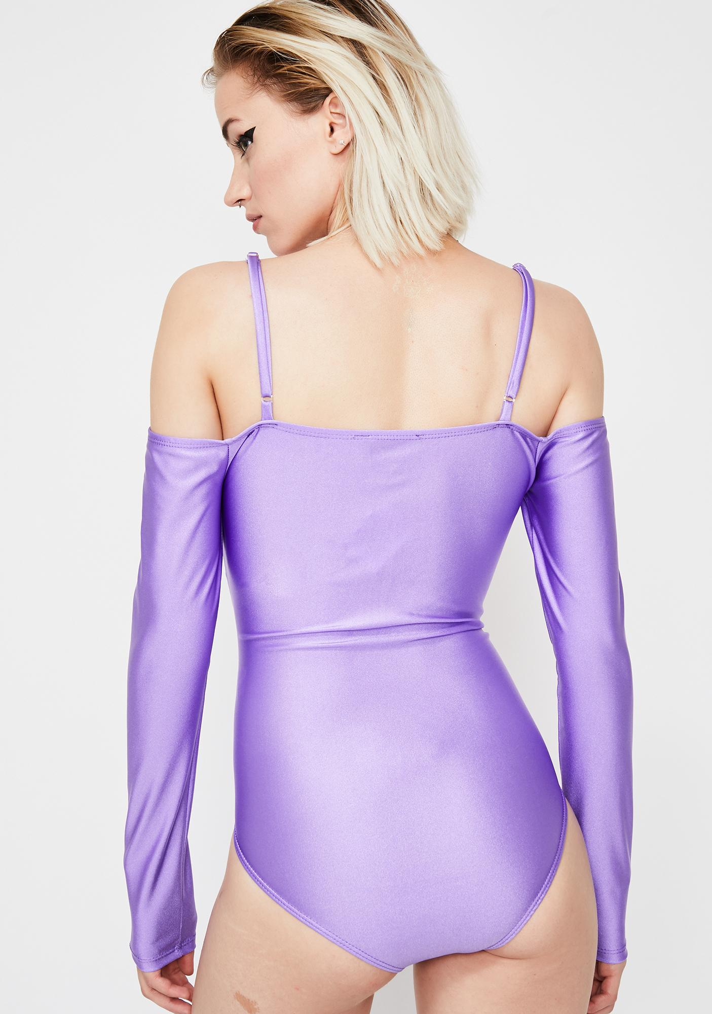 Get Twisted Cold Shoulder Bodysuit