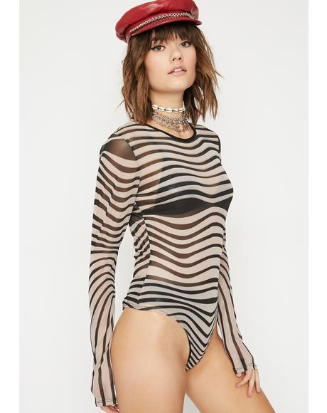 Obscure Mind Sheer Bodysuit