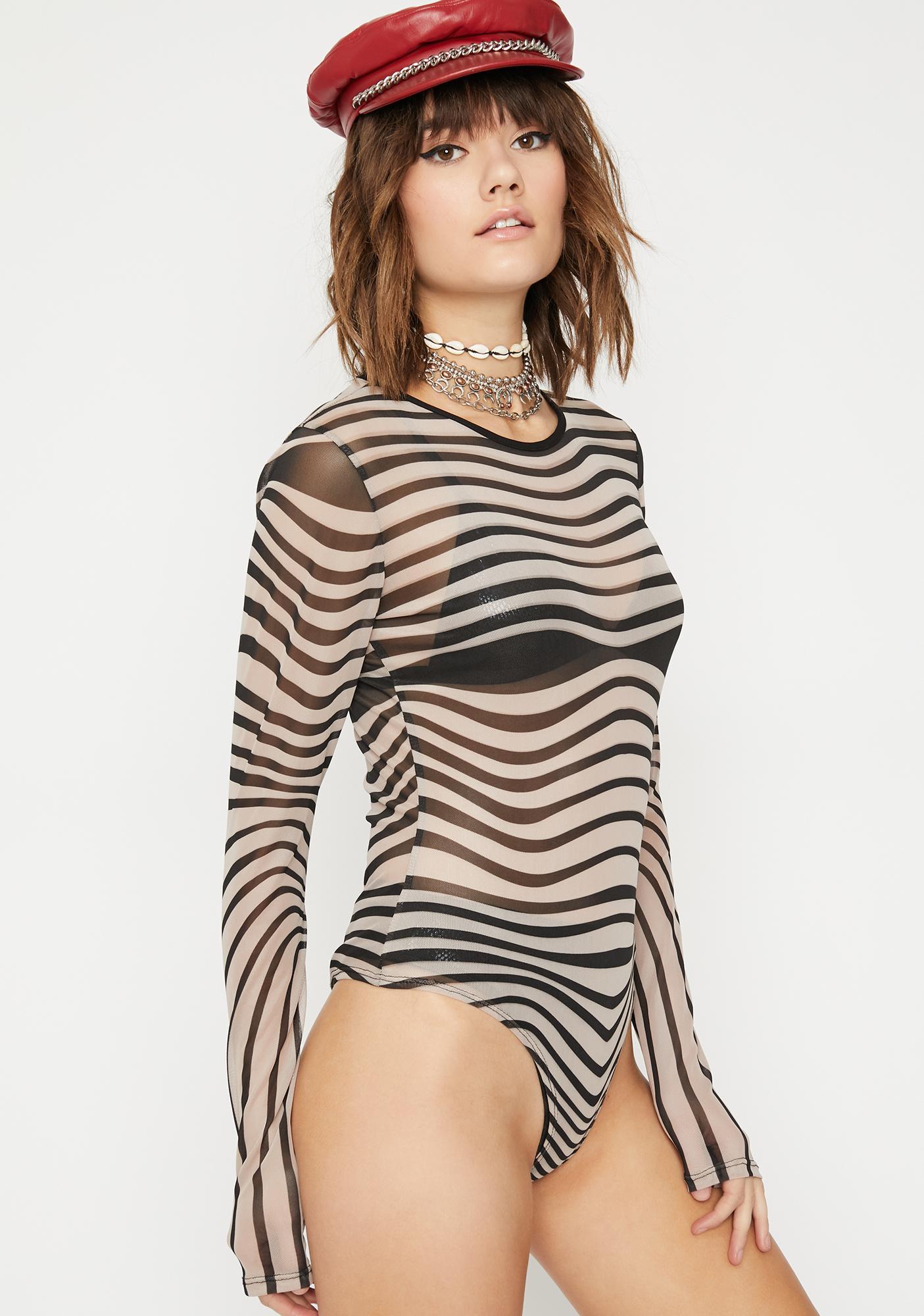Obscure Mind Sheer Bodysuit