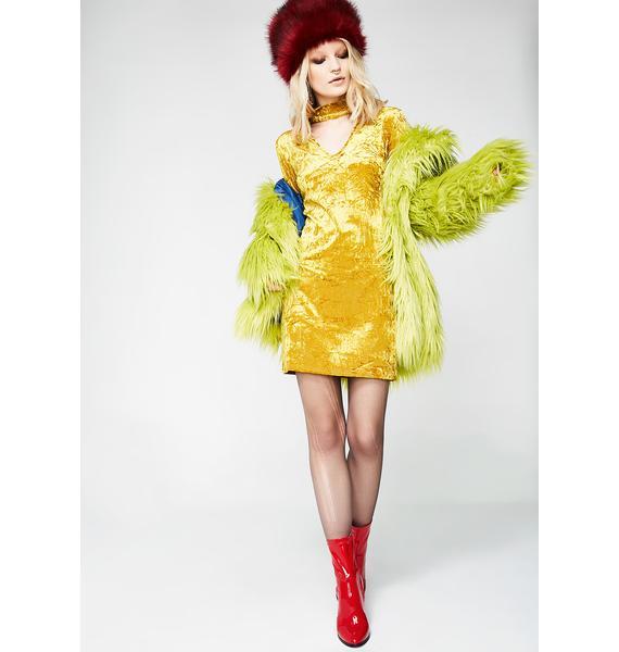 Glamorous Move N' Groove Long Sleeve Dress
