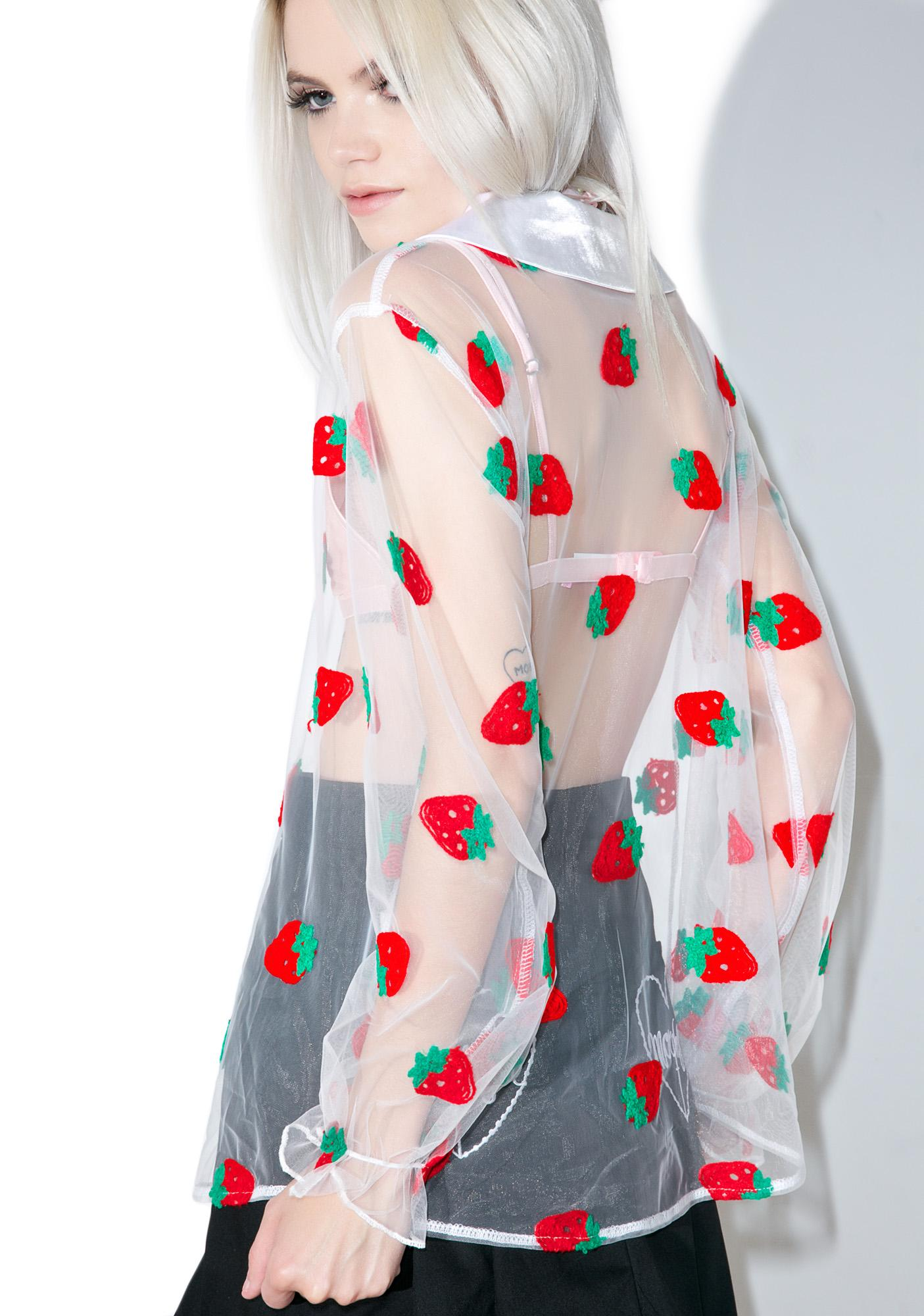 Blouse Strawberry 7