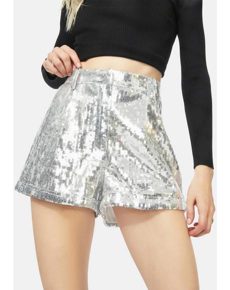 Primp And Polish Sequin Shorts
