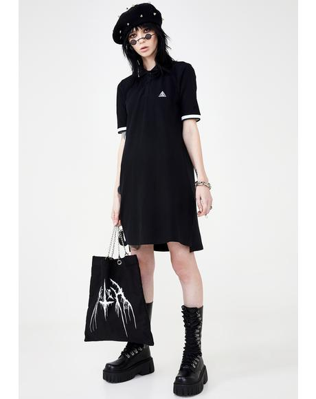 All-Seeing Polo Dress