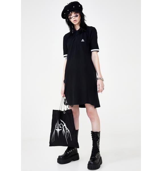 Disturbia All-Seeing Polo Dress
