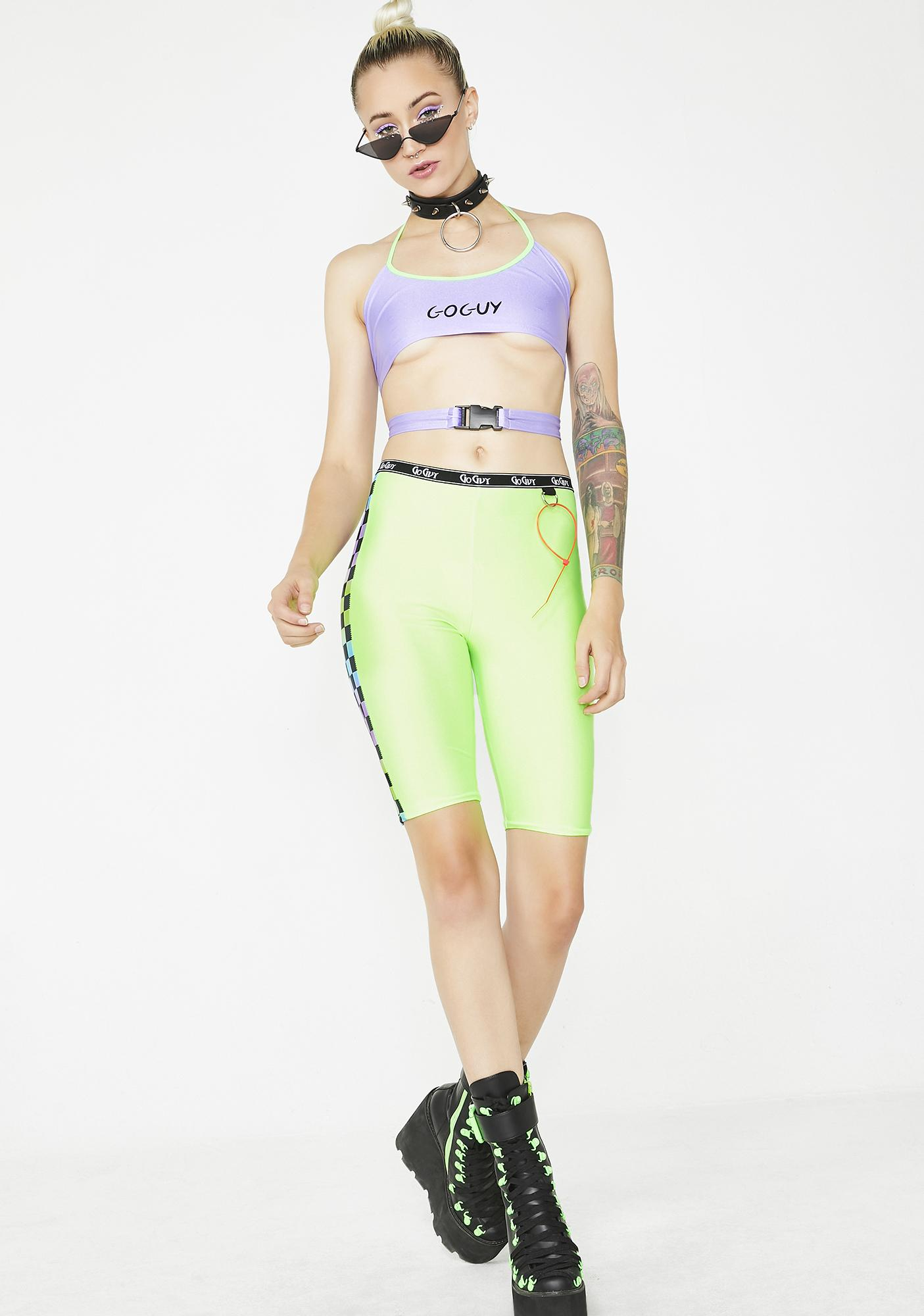GoGuy Lilac Buckle Top