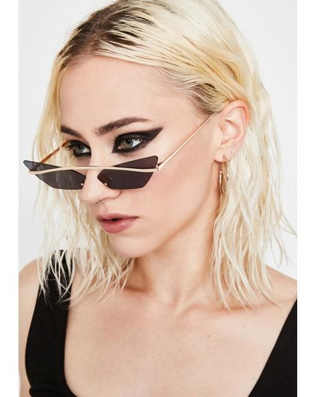 Sinful Karma's Bish Cat Eye Sunglasses
