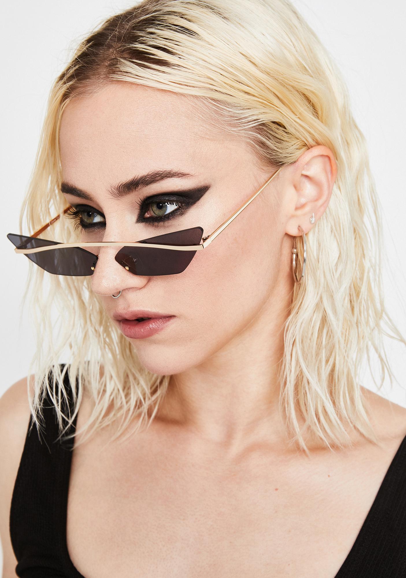 Sinful Karma's Bish Cat Eye Sunglasses