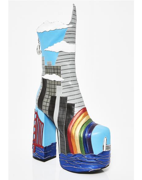 Fog City Platform Boots