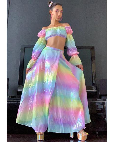 Welcome To Wonderland Maxi Skirt