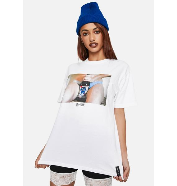 Learn To Forget x PBR 40 Oz. Premium Graphic Tee