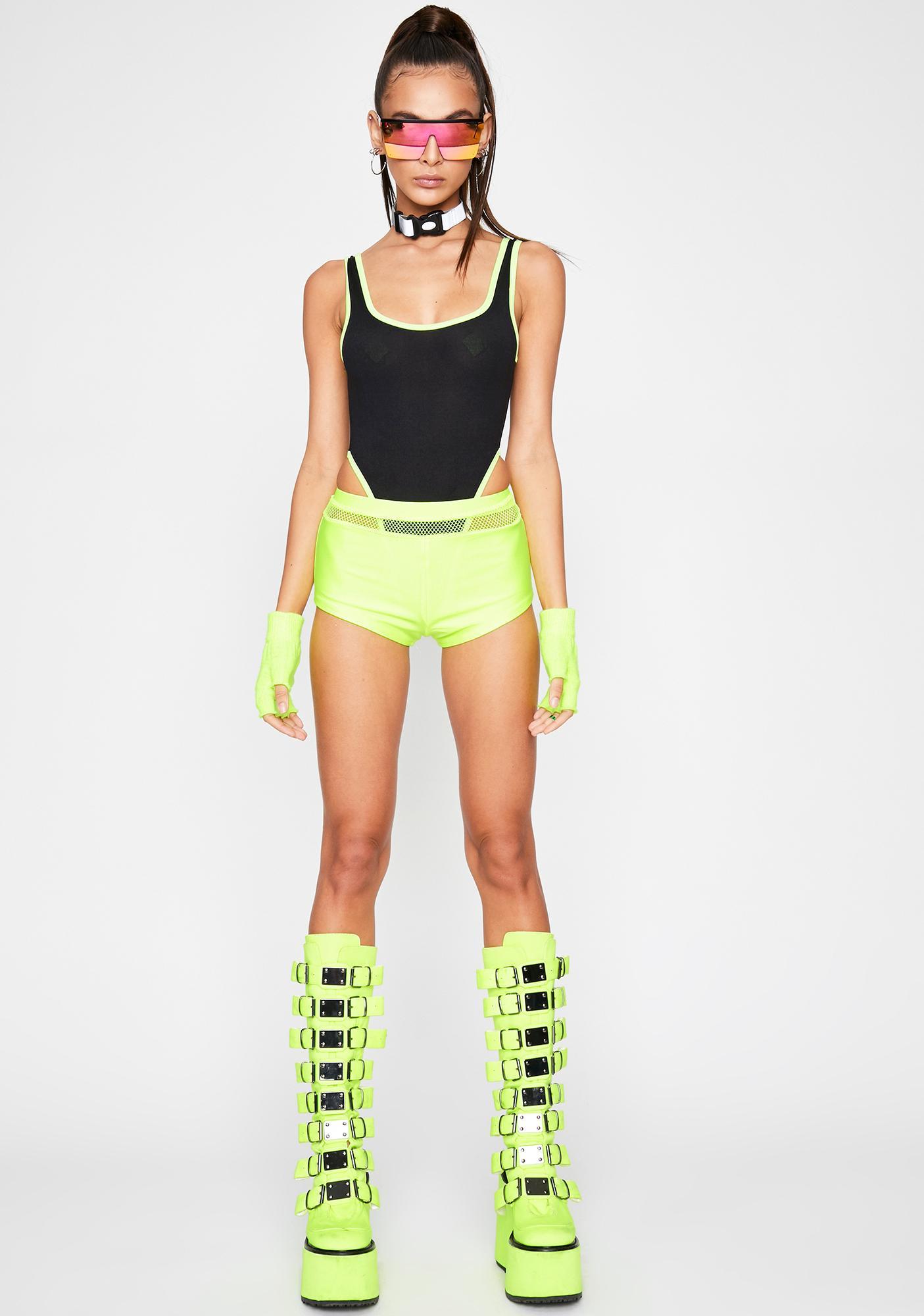 Rave Monster Knit Bodysuit