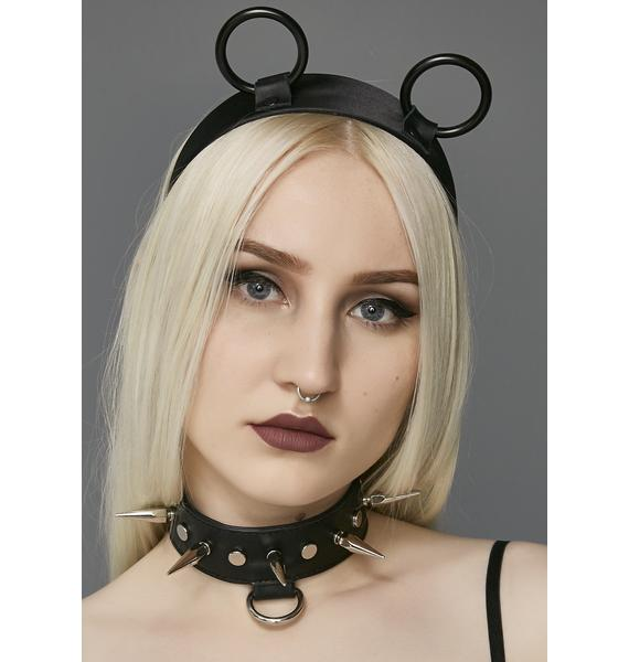 Dark Innocence O-Ring Headband