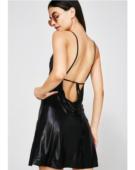 Off Limits Slip Dress