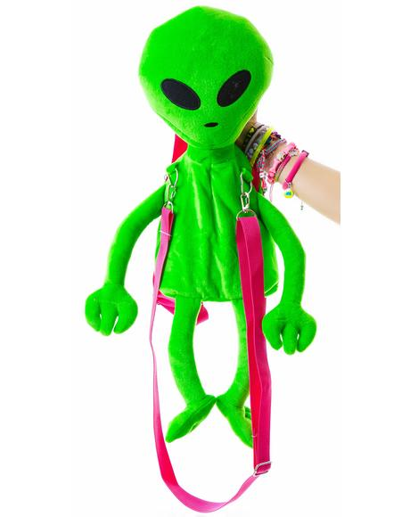 Lost E.T. Alien Backpack