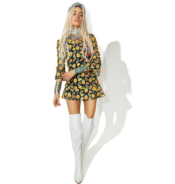 For Love & Lemons Amelia Swing Dress