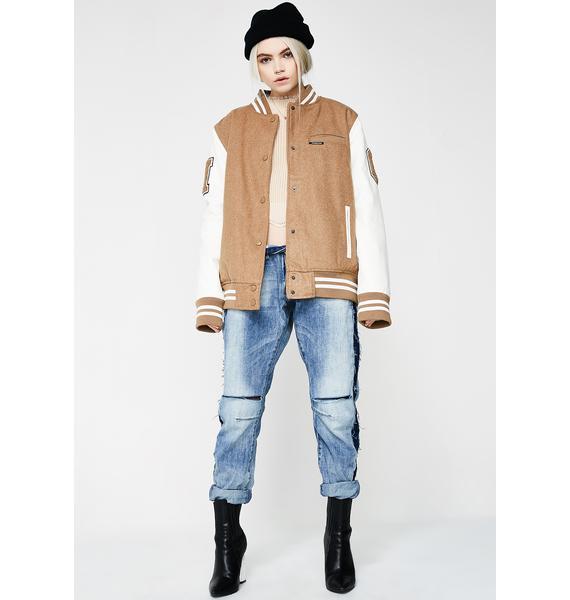Members Only Varsity Jacket