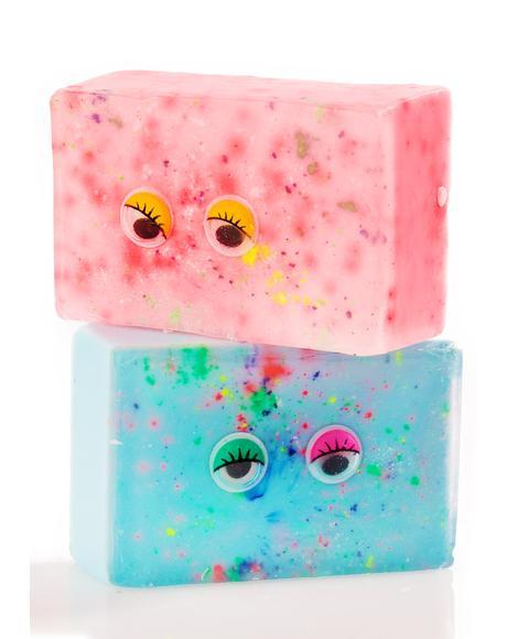 Googly Eyed Soap