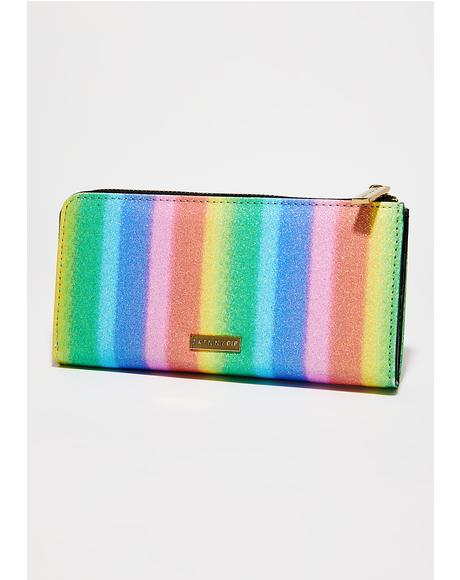Rainbow Party Large Wallet