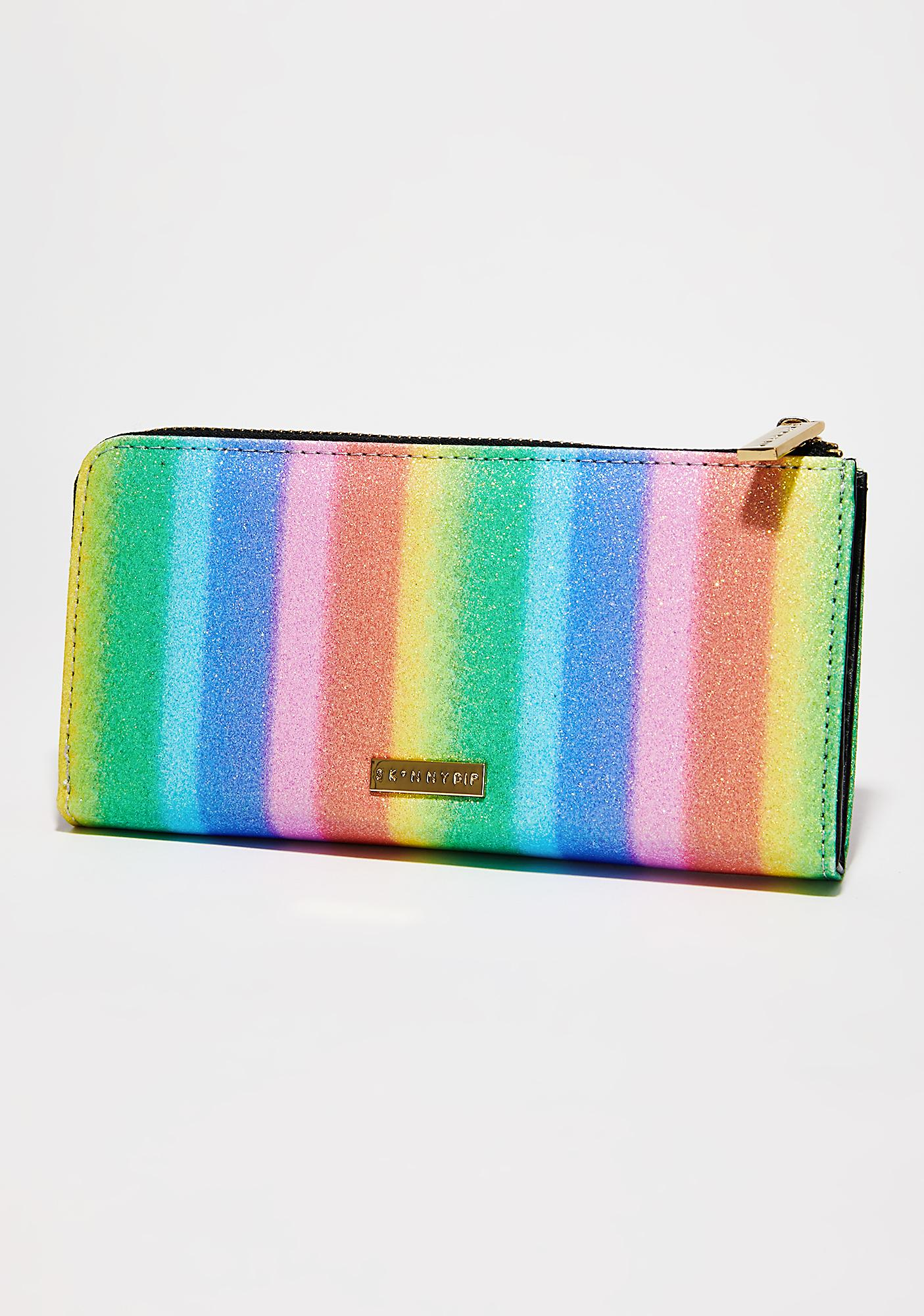 Skinnydip Rainbow Party Large Wallet
