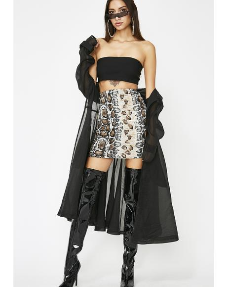 Rattle N' Roll Mini Skirt