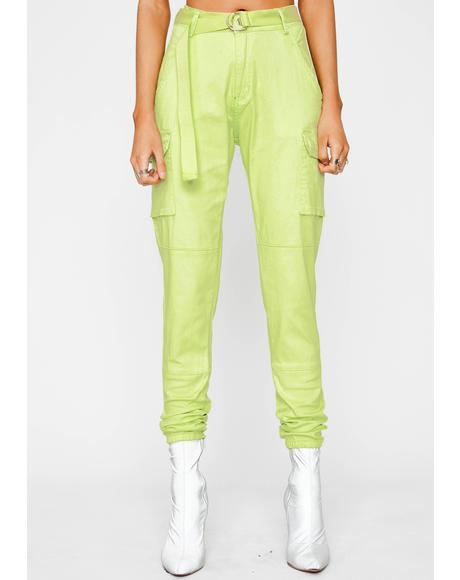 Sour Talk Mean Cargo Joggers