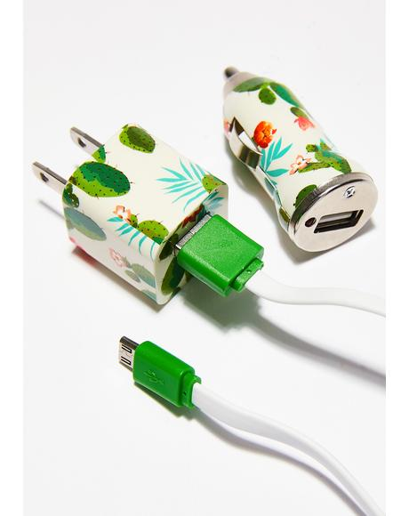 Cactus Charging Set