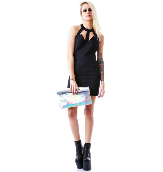 Angeline Cut Out Front Body Con Dress