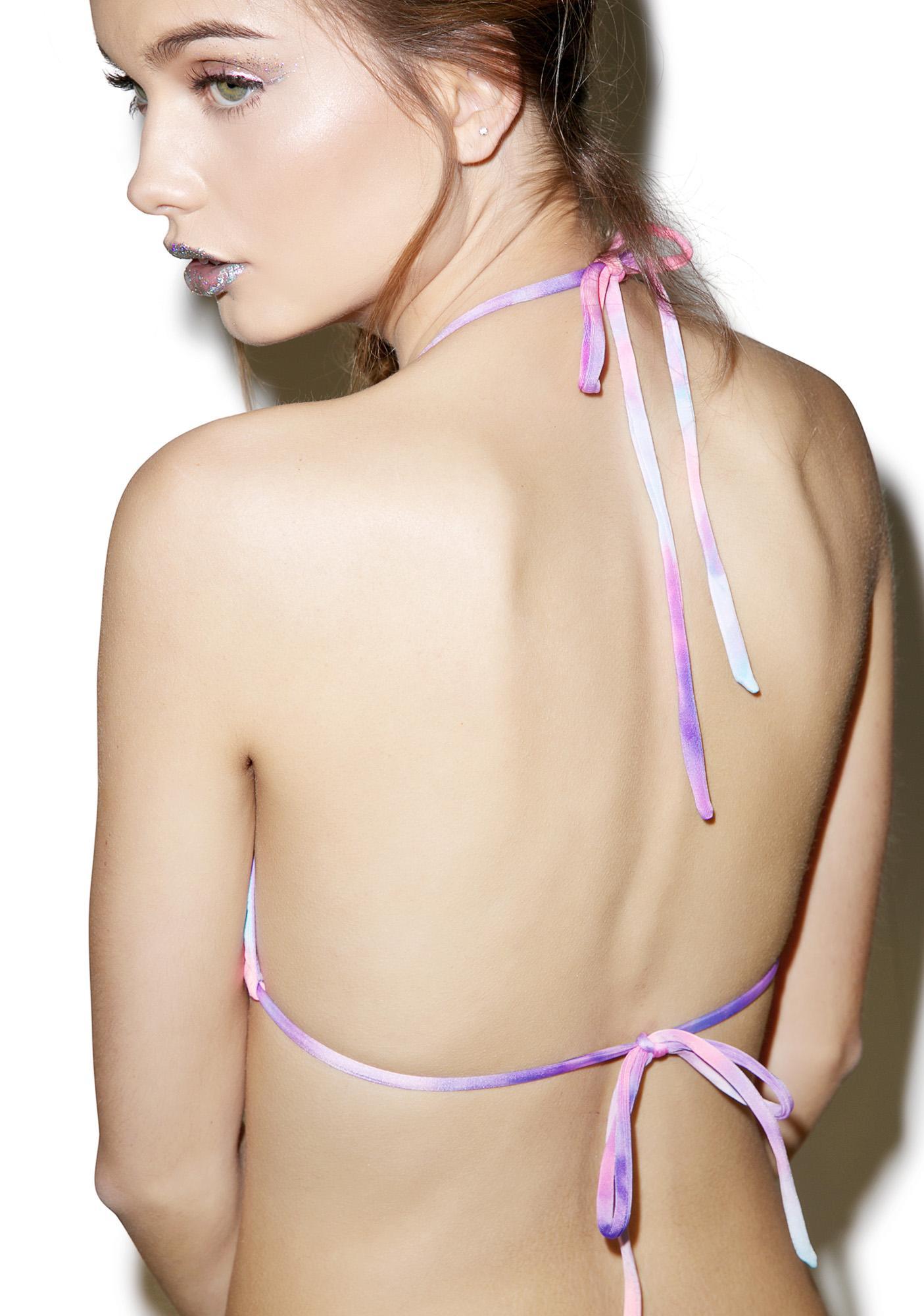 Margarita Mermaid Aquababe Seashells Bikini Top