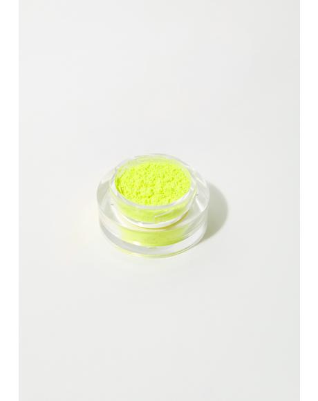 Neon Yellow Loose Pigment