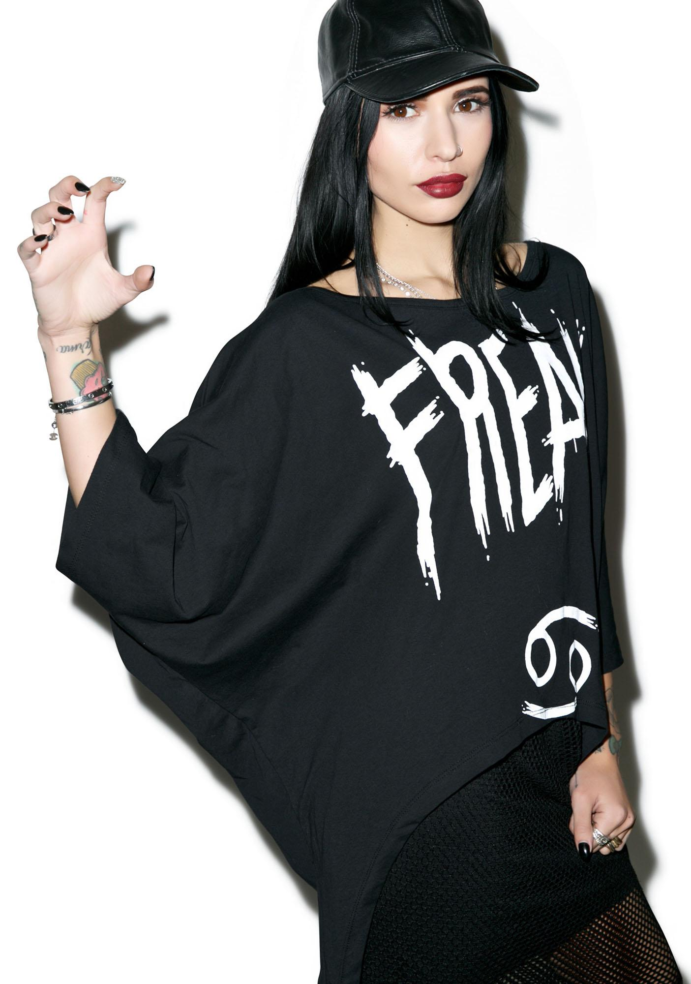 Killstar Cancer Drape Top