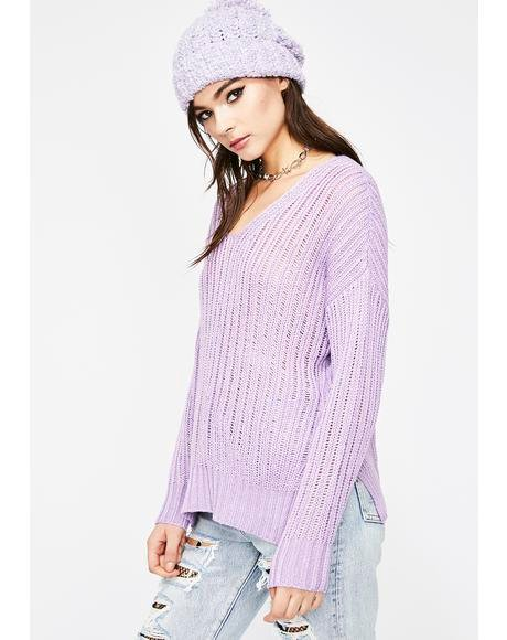 Go Sour Knit Sweater