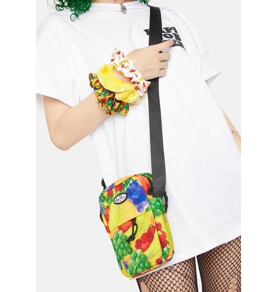 Petals and Peacocks Treat Yourself Shoulder Bag