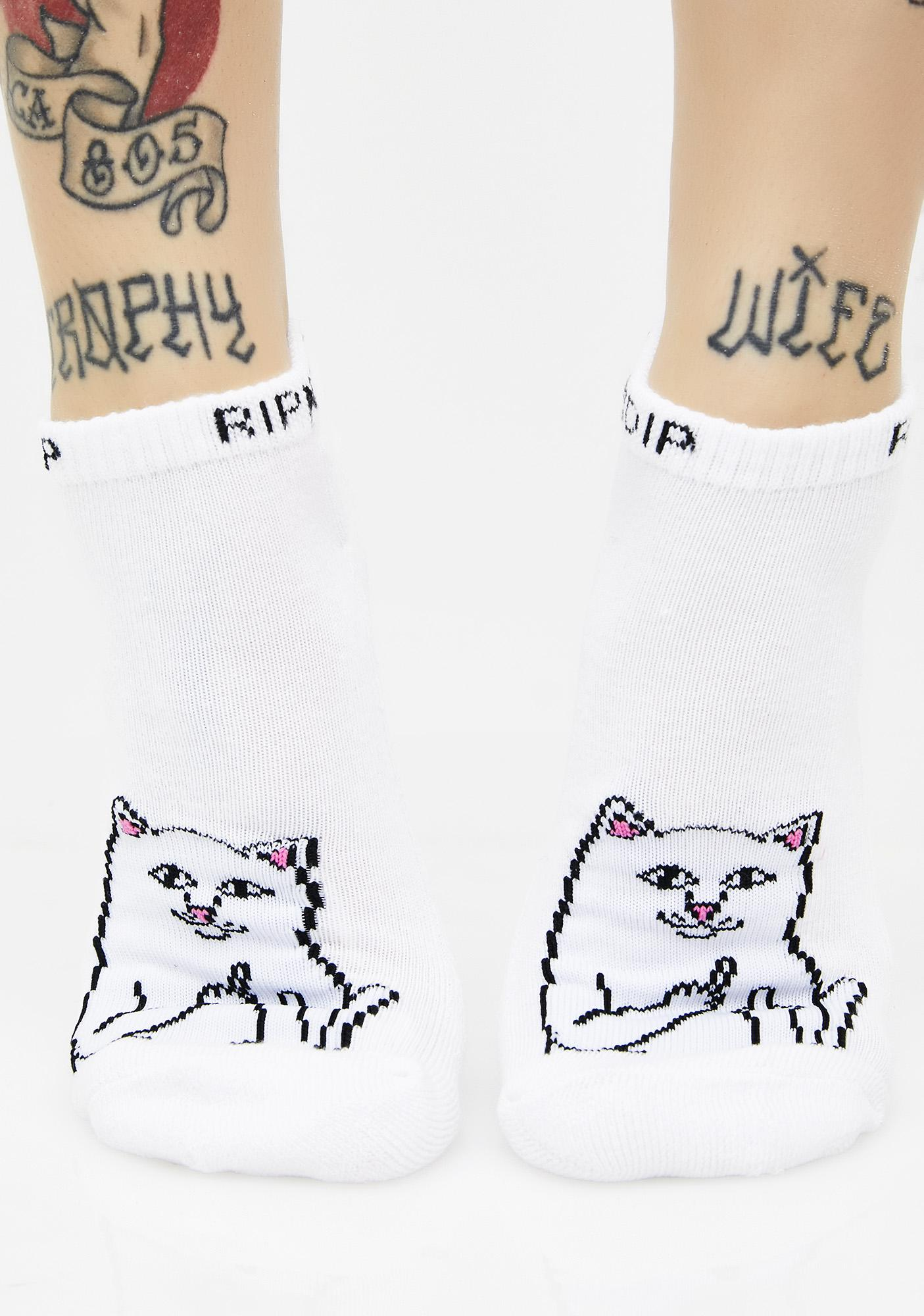 RIPNDIP Lord Nermal Ankle Socks