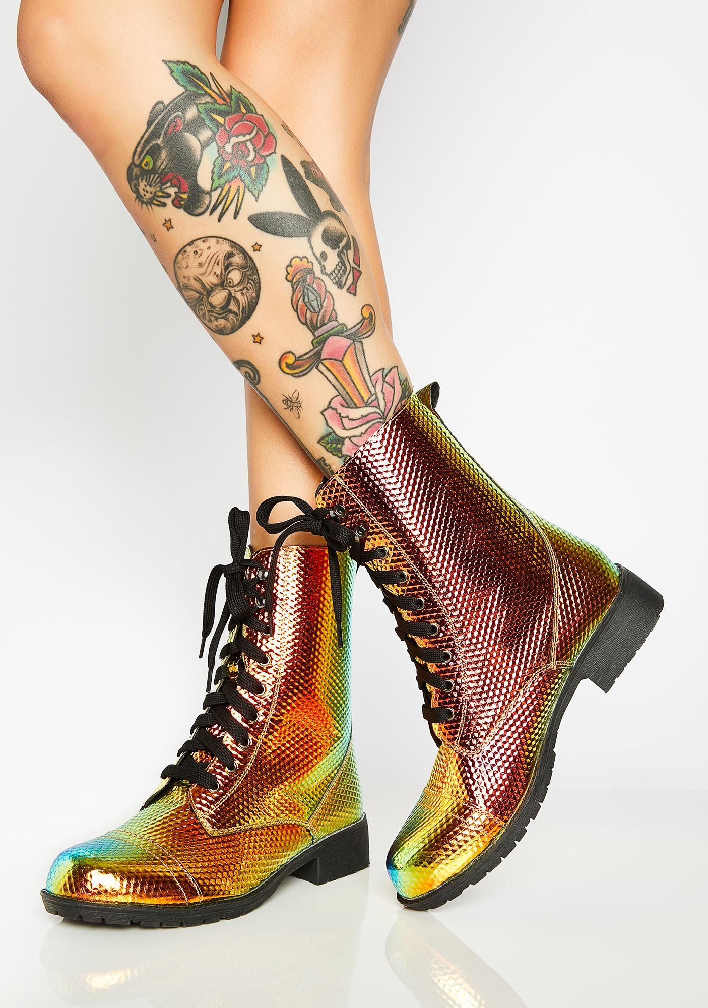 Infrared Light Combat Boots