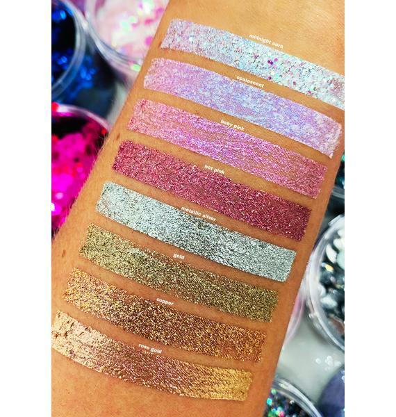 SHRINE Rose Gold Glitter Lids Liquid Eyeshadow