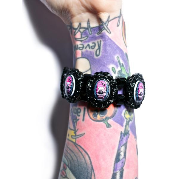 Tarina Tarantino Gothic Lolita Cuff Bracelet