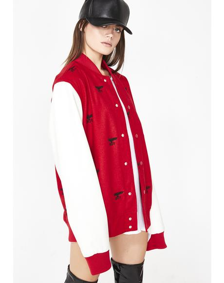Boy Repeat Varsity Jacket