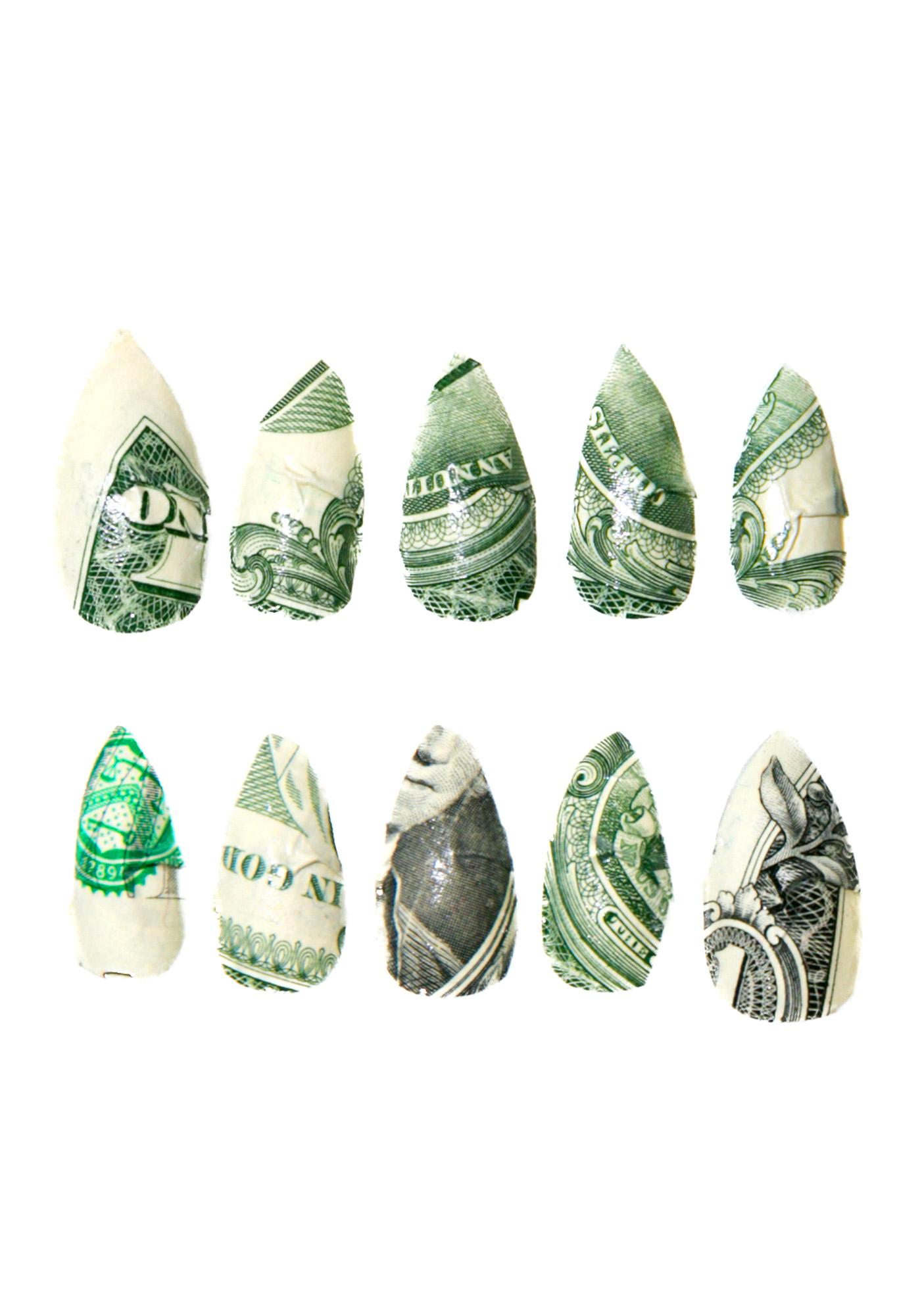 Rave Nailz Dollar Bill Nail Set