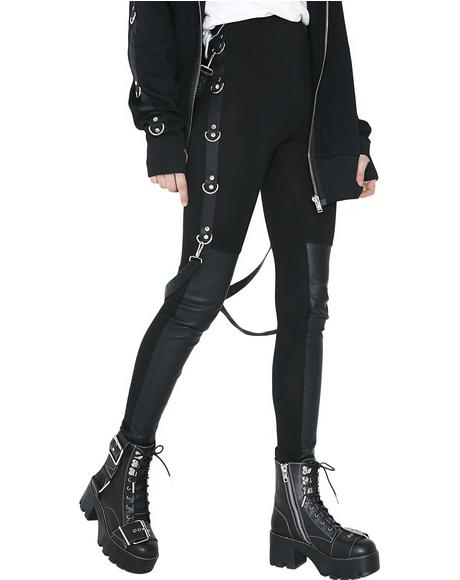 Way I Walk Bondage Leggings