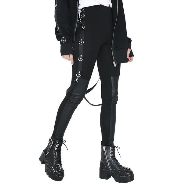 Current Mood Way I Walk Bondage Leggings